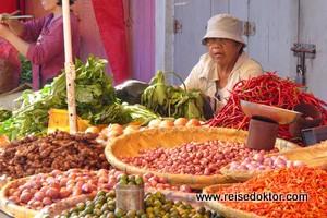Der große Markt von Tomohon