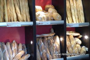 Bäckerei in Frankreich