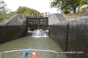 Canal du Midi Schleuse