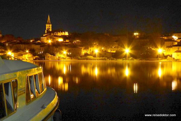 Castelnaudary bei Nacht