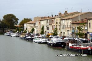Hafen von Castelnaudary