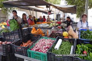 Markt in Bram