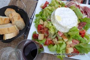 Salat in Frankreich