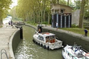 Schleusen am Canal du Midi