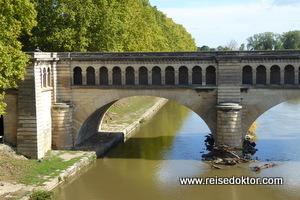 Kanalbrücke in Bézier