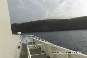 Cabo Verde Fast Ferry – immer den Horizont fixieren