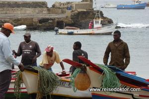 Fischer auf Kap Verde