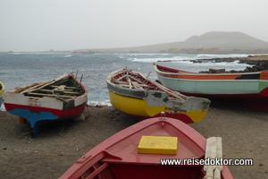 Fischerboote Sao Vicente