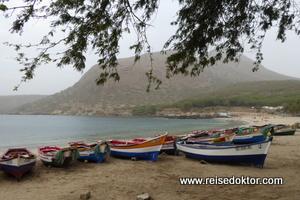 Fischerboote Tarrafal