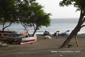 Fahrt von Ribeira Grande nach Porto Novo