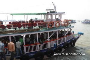 Bootsfahrt Elefaphanta Insel
