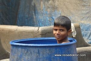 Dhobi Ghat, die größte Freiluftwäscherei der Welt