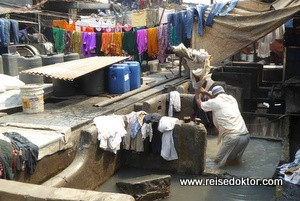 Dhobi Ghat Wäscher