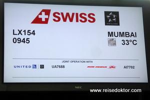 Flug nach Mumbai