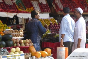 Obstmarkt in Mumbai
