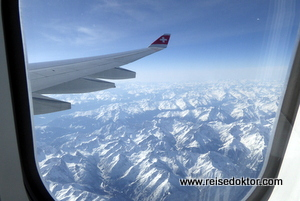 Swiss Flug Alpen
