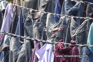 Wäsche trocknen in Mumbai