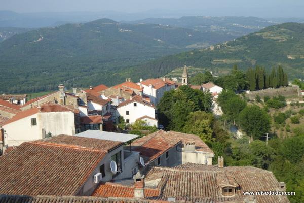 Ausblick von Motovun
