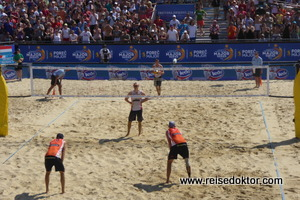Beach Volleyball in Porec