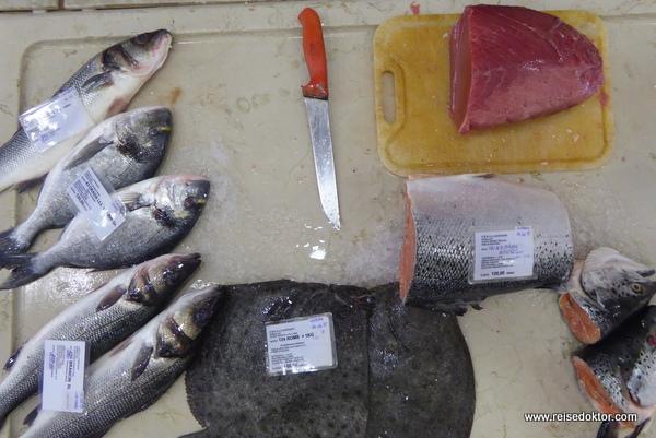 Fischmarkt von Rovinj