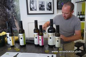 Olivenöl Verkostung