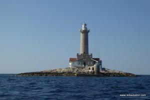 Porer Lighthouse – Übernachten in einem Leuchtturm