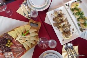 Abendessen in Oprtalj - authentisch und gut