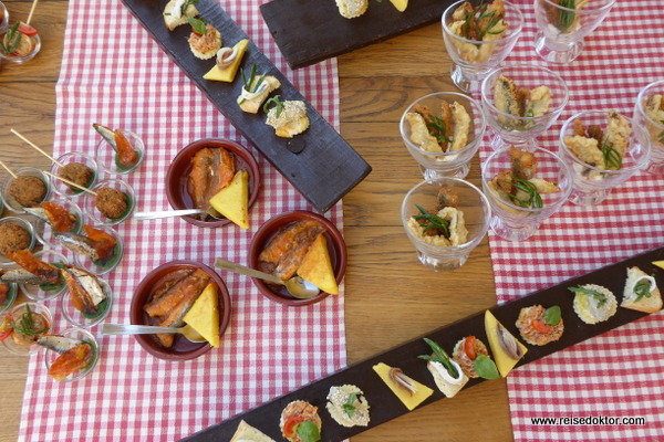 Sardinen Gerichte in Fazana