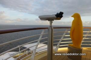 Mein Schiff 4 - Morgenrundgang auf den Decks