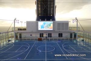 Mein Schiff 4 Sportplatz