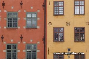 Häuser in Stockholm
