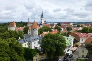 Ein gemütlicher Tag in der Stadt Tallinn