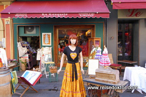 Geschäft in Nizza