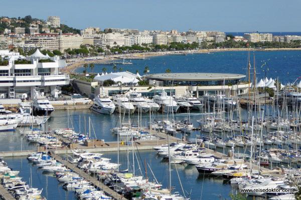 Hafen in Cannes