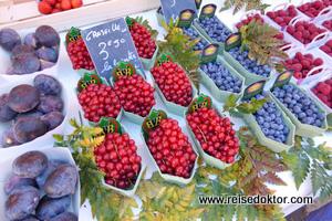 Markt in der Altstadt von Nizza