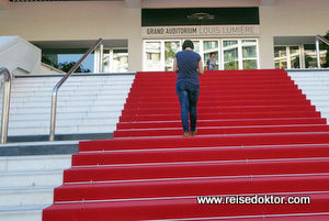 Roter Teppich in Cannes
