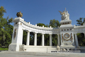 Alameda Park in Mexico