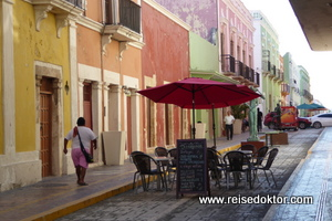 Calle 59 in Campeche