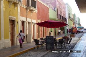 Calle 59 in Campeche