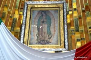 Wir besuchen die Jungfrau von Guadalupe