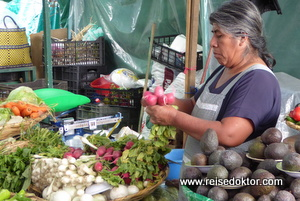 Markthalle in Oaxaca