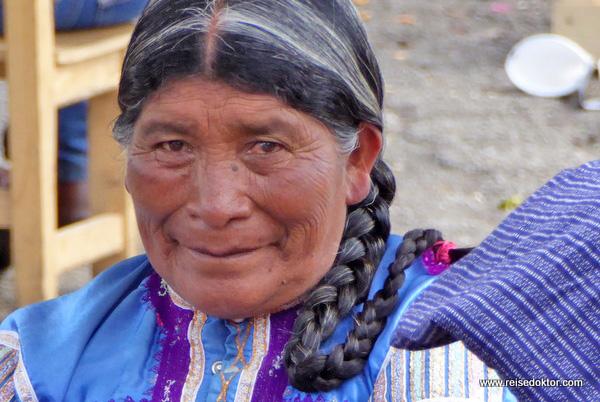 Maya Bevölkerung in Mexiko