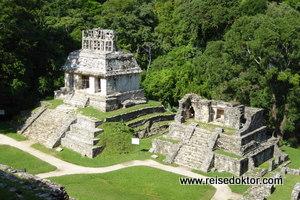 Mayatempel in Palenque
