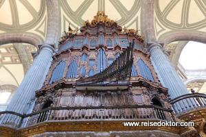 Orgel in der Kathedrale