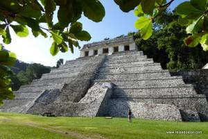 Palenque, die historische Mayastadt im Dschungel