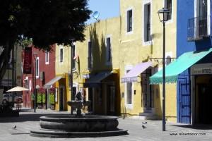 Puebla, Mexiko wie aus dem Bilderbuch