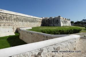 Stadtmauer von Campeche