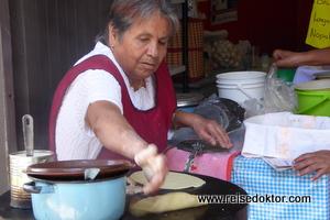 Straßenküche in Mexiko