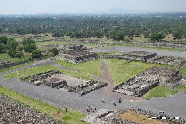 Teotihuácan in Mexiko