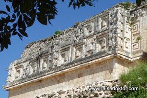 Uxmal in Mexiko